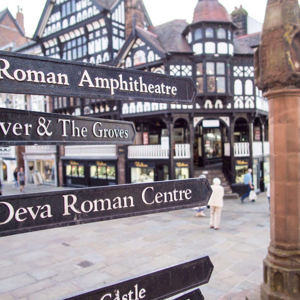 Chester centro città